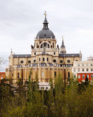 Католический собор в Мадриде — Стоковое фото