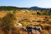 Mountainous terrain in the province of Cuenca — Stock Photo