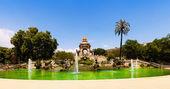 Cascada fountain in Barcelona — Stock Photo