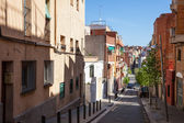 Hilly picturesque streets of Badalona — Stock fotografie