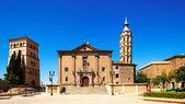 Summer view of Zaragoza. Aragon — Stock Photo