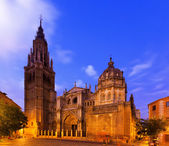 Primate Cathedral of Saint Mary in Toledo, Spain — Stock Photo