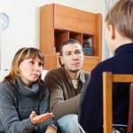 Parents scolding teenage child — Stock Photo #46908511