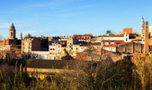 View of Valls in winter day. — Stock Photo