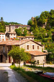 View of Rupit - Catalan village in Pyrenees — Foto Stock