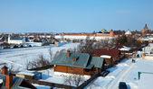 Suzdal no inverno. rússia — Foto Stock