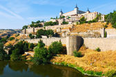 Alcazar of Toledo in sunny day — Stock Photo