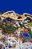 Jewellery background — Stock Photo