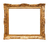 Luxury gilded mirror frame — Photo