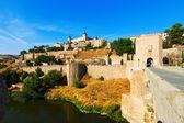 Toledo from Puente of Alcantara  — Foto Stock