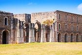 Abandoned fort. Castell de Sant Ferran  — Stock Photo