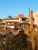 view of Valls in winter. Tarragona  — Stock Photo