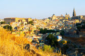 View from hill to Toledo   — Foto Stock