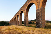 Roman aqueduct in Navarre  — Photo
