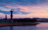 Vista de são petersburgo na madrugada de verão — Foto Stock