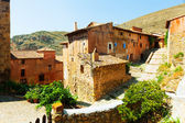 Spanish mountains town. Albarracin, Aragon — Photo