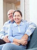Sonriente pareja — Foto de Stock