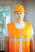 Portrait of builder — Stock Photo