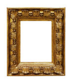 Old copper picture frame — Stock Photo
