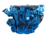 New blue engine — Stock Photo
