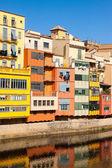 Girona en journée ensoleillée. — Photo