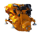 Yellow engine — Stock Photo