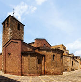 Day view of Cathedral of Santa Maria d'Urgell  — ストック写真
