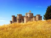 Medieval castle in Belmonte — Stock Photo