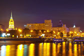 View of Moscow in summer  night — Stock Photo