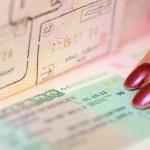 Passport witn Schengen visa — Stock Photo