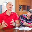 Man and woman having financial problems — Stock Photo #47099803
