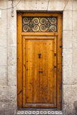 Porta in legno d'epoca — Foto Stock
