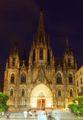 Cathedral of  Holy Cross and Saint Eulalia — Stock Photo