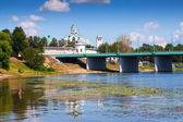 Holy Transfiguration Monastery in Yaroslavl  — Stock Photo