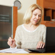 Working woman with laptop — Stock Photo #47101521