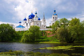 Monastery at Bogolyubovo i — Stock Photo