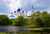 Monastery at Bogolyubovo i — Stock Photo