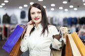 Portrait of smiling female buyer — Stock Photo