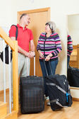 Couple  going on holiday — Stock Photo
