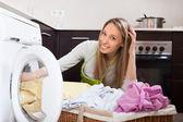 Home laundry  — Stock Photo