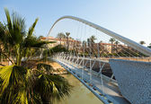 Footbridge over Segura   in Murcia — Stock Photo