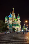 Intercession Cathedral   at  Moscow — Stock Photo