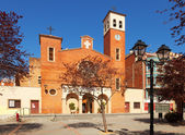 Parish Church of Sant Adria. — Stock Photo