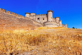Gothic Mudejar castle in Belmonte — Stock Photo