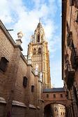 Campanario de la catedral de toledo — Foto de Stock