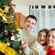 Happy family of three — Stock Photo #47125795