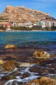 Sea coast in Alicante, Spain — Stock Photo