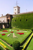 Montjuic Castle in Barcelona — Stock Photo