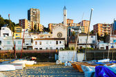 Catalan town in mediterranean coast — Stock Photo