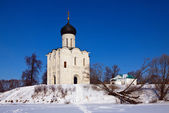 Church on the River Nerl — Stock Photo